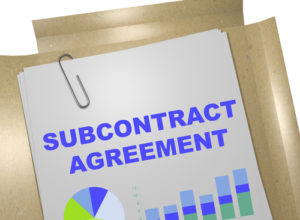 subcontractor agreement lawyer moorestown nj